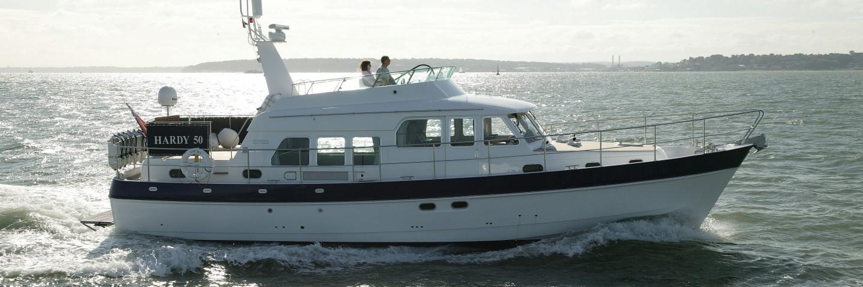 Hardy 50 sea going motor yacht