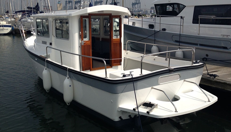 Hardy Fishing 24 used motor boat for sale