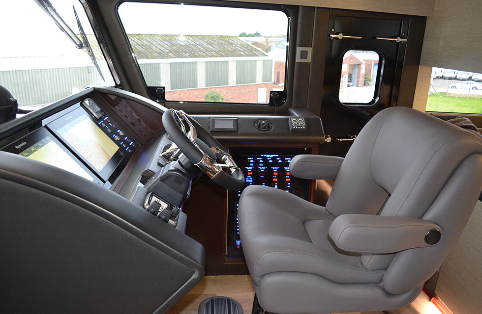 Wheelhouse - starboard side